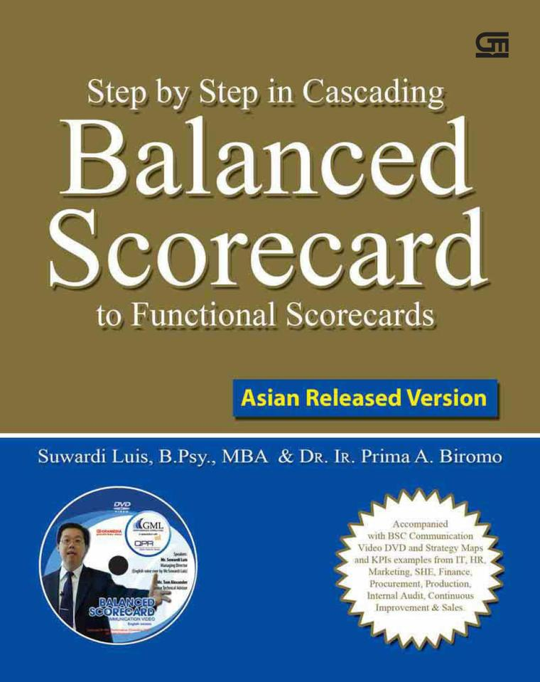 Step by Step in Cascading Balanced Scorecard to Functional Scorecards